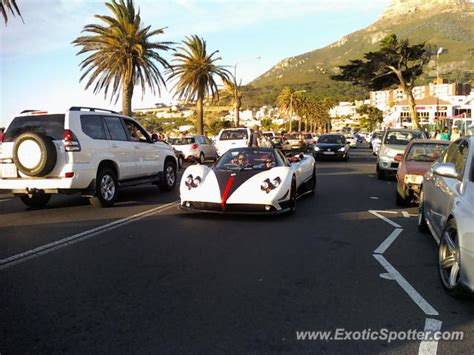 Pagani Zonda spotted in Cape Town, South Africa on 12/24 ...