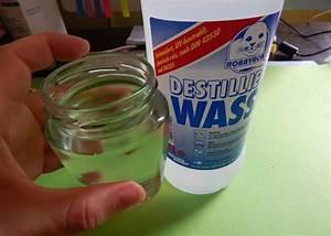 Destilliertes Wasser Selber Machen : schneekugel selber machen mit destilliertem wasser und baby l ~ Watch28wear.com Haus und Dekorationen