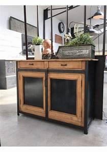 Buffet Industriel Ikea : les 25 meilleures id es concernant buffet industriel sur pinterest bahut industriel meuble ~ Teatrodelosmanantiales.com Idées de Décoration
