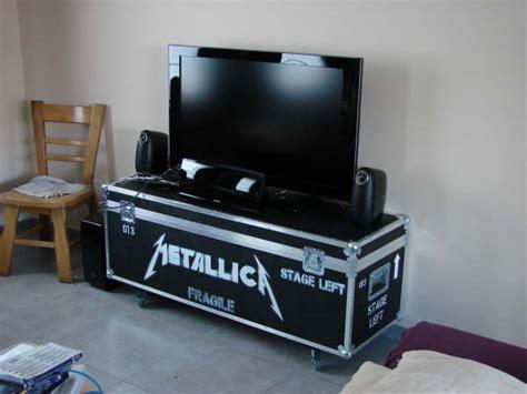 meuble tv fly case table de lit  roulettes
