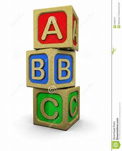 black and white blocks clipart clipart suggest With abc letter blocks