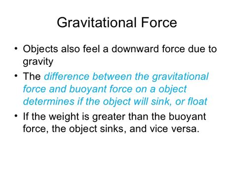 what determines whether an object will sink or float buoyancy