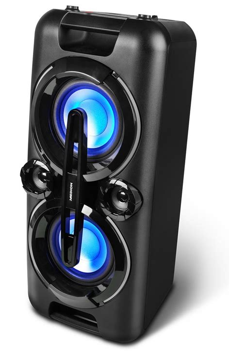 medion life p party sound mit bluetooth led
