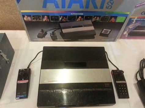 Atari 5200 Console And Box Members Album Game Podunk