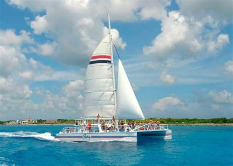 Catamaran In Cozumel by Tour En Catamaran Cozumel Tours En Cozumel
