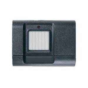 stanley 1050 310mhz single button visor gate and garage door opener remote transmitter