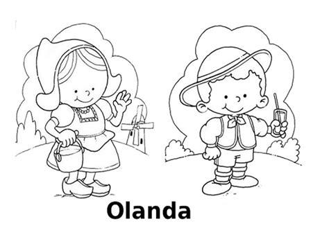 disegni bambini mondo da colorare disegni da colorare i bambini mondo olanda