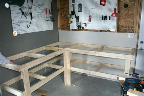 Built Dad Tough Garage Benchgarage Workbenchworkbench
