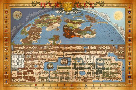 map zelda dungeon