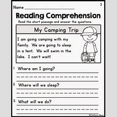 The Best Of Teacher Entrepreneurs Ii Kindergarten Reading Comprehension Passages Education