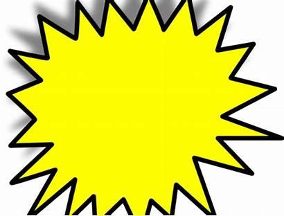 Pow Starburst Bubble Blank Clipart Transparent Burst