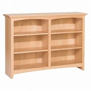 """Whittier Wood McKenzie Bookcase Collection - 48"""" Wide"""