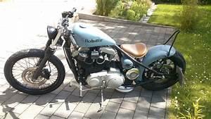 Harley Sportster Bobber Starrahmen Hardtail  Seber Customs Kodlin Umbau