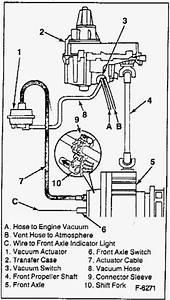 2004 Chevy S10 Blazer Transfer Case Vacuum Diagram