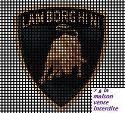 Pixel Art Voiture De Sport : grille gratuite lamborghini point de croix cross stitch designs cross stitch patterns et ~ Maxctalentgroup.com Avis de Voitures