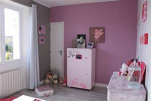 chambre rose et taupe choosewellco With chambre fille rose et taupe