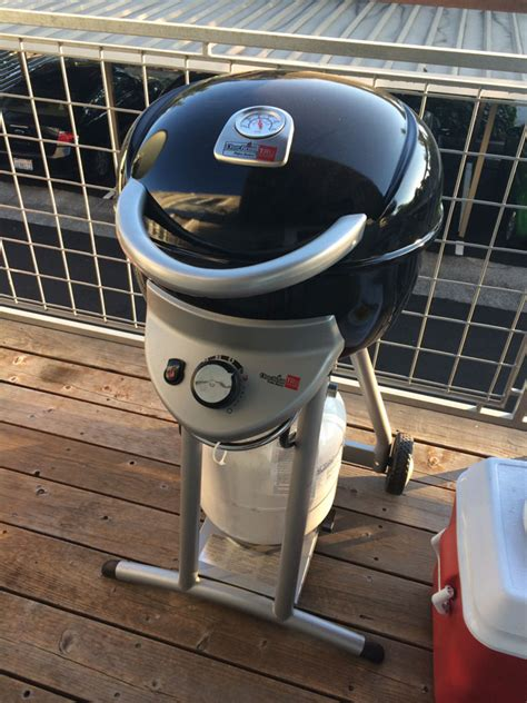 char broil patio bistro tru infrared gas grill review