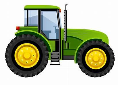 Tractor Clipart Deere John Tractors Farm Clip