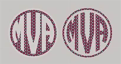 Monogram Circle Silhouette Monograms Tip Getting Silhouetteschool