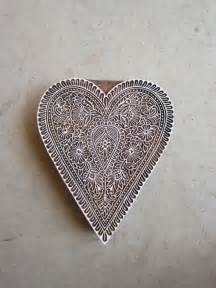 Carved Heart Print