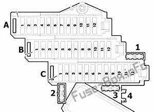 Fuse Box Diagram Audi Q7  4l  2007