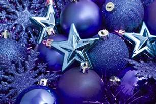 photo of blue christmas decorations free christmas images