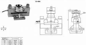 Calt 40 Ton Weighbridge Load Cell Weight Sensor For Truck