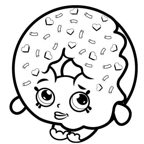 Kleurplaat Emoji Donut by Leuk Voor D Lish Donut