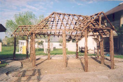 How To Build A Tiki Hut by Building A Tiki Hut Qt14 Roccommunity