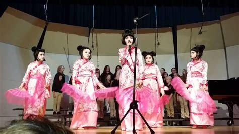Changing jobs to work in japan ■ language japanese n2 level, toeic neitibu point, german native goooooo i have a resume. Pine Knot Intermediate School - Music in the Schools - Japanese Fan Dance - YouTube