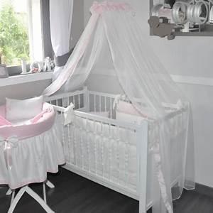 Moustiquaire Ciel De Lit : ciel de lit de b b en voile rose poudr ~ Dallasstarsshop.com Idées de Décoration