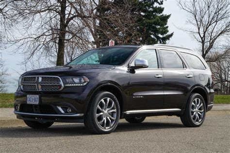 review  dodge durango citadel canadian auto review