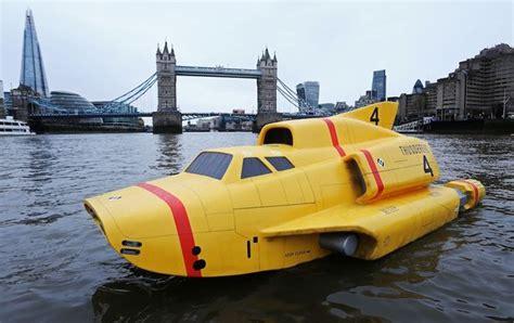 Thunderbird 4 travels down River Thames as International ...