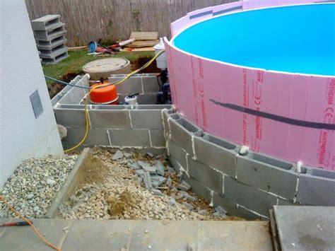pool untergrund styrodur das aquapool schwimmbad forum stahlwandpool ebenerdig einbauen