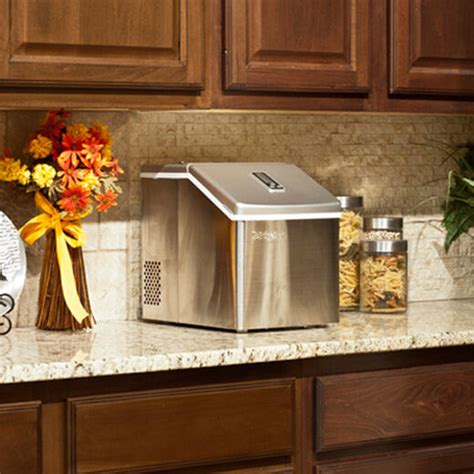 Small Countertop by Portable Clear Cube Maker Compact Countertop Small
