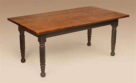 farm table colonial cherry wood dining farmhouse