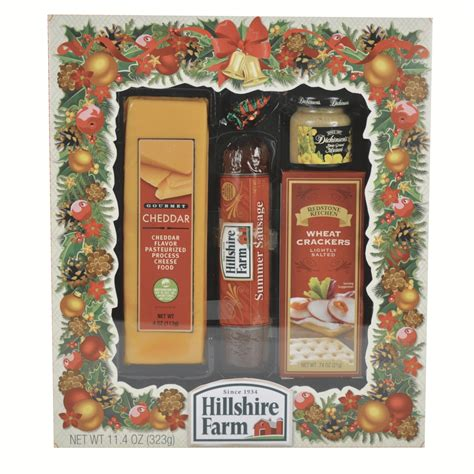 hillshire farm christmas gift set bay island and cheese gift set