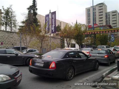 maserati iran maserati quattroporte spotted in tehran iran on 02 27 2013