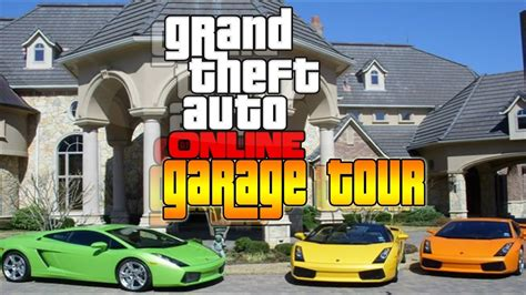Gta 5 Online| Ps4| My Luxury Garage Tour