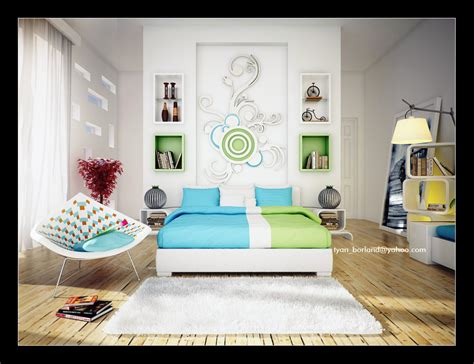 Design Ideas For Green Bedroom by 16 Green Color Bedrooms