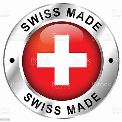 Swiss Icon Switzerland Badge Finance Industry Cut