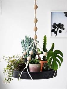 Suspension Macramé Ikea : plateau suspendu avec plantes ikea plantes pinterest ~ Zukunftsfamilie.com Idées de Décoration