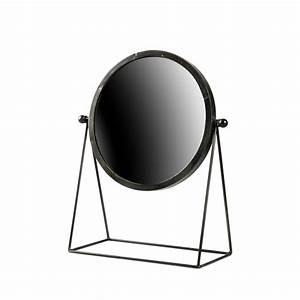 Miroir à Poser : miroir poser industriel m tal hi drawer ~ Teatrodelosmanantiales.com Idées de Décoration
