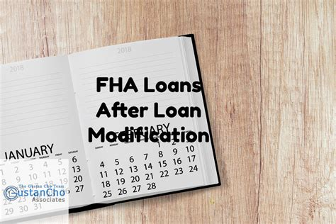Modification Mortgage Loan by Qualifying For Fha Home Loans After Loan Modification