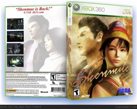 Shenmue Xbox 360 Box Art Cover By All Hail The New Flesh