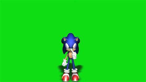 green screen footage sonic  hedgehog hd youtube