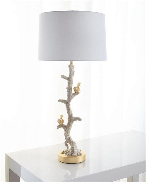 frederick cooper sprigs promise  gold table lamp