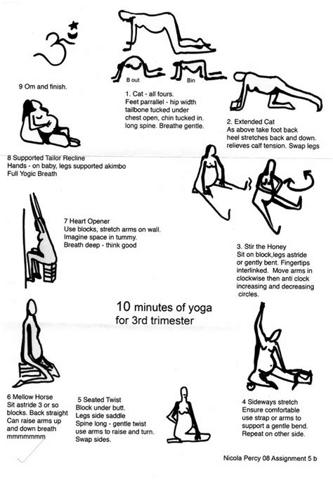 10 minutes of yoga for 3rd trimester | Charlie Man | 3rd