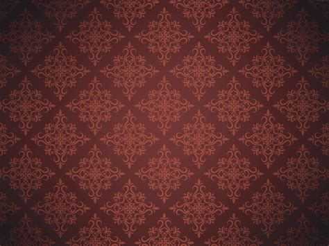 Brown Floral Background Pattern red Blog Archive