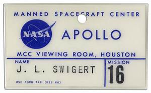 Astronaut Name Badge - Pics about space